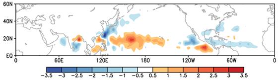북반구 열대성 저기압 예측성 검증